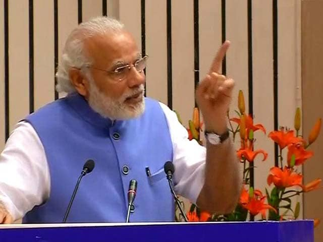 Video : I Am First PM To Deliver Ambedkar Memorial lecture, Says PM Modi