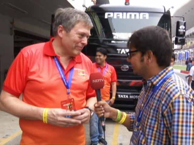 Video : Guenter Butschek,MD & CEO, Tata Motors Talks About Truck Racing in India