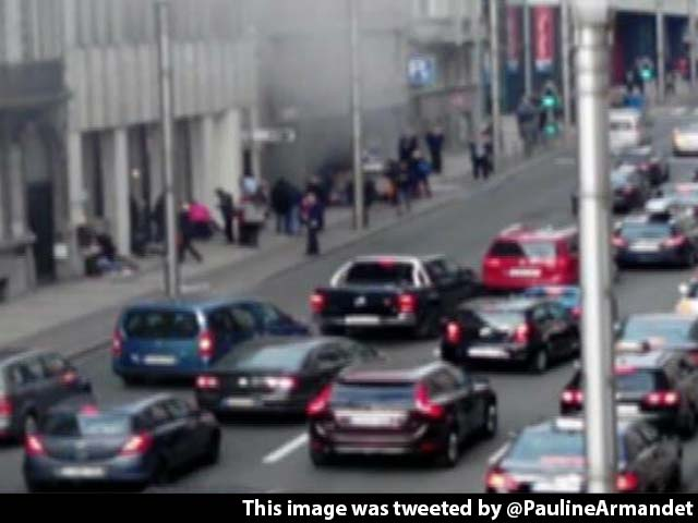 Video : ISIS Attacks Bring Brussels To Standstill; Police Hunt For Suspect