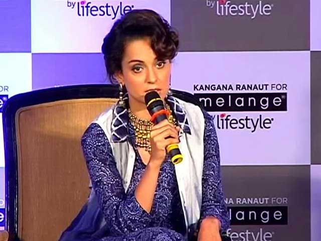 Kangana is Strong And Silent