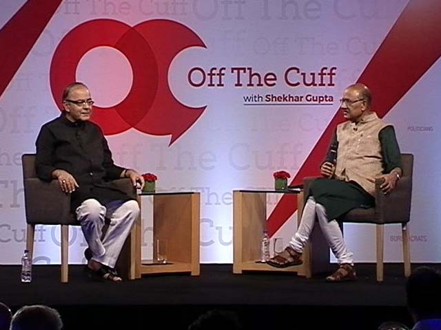 Video : In Conversation With Finance Minister Arun Jaitley