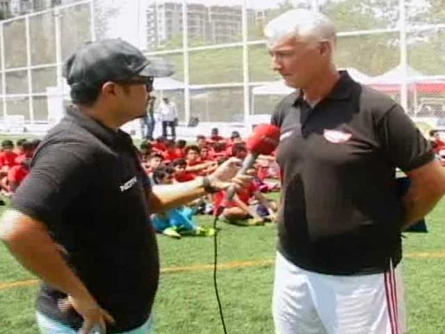 Video : NDTV Nissin Manchester United Soccer School: Day 4, Bengaluru