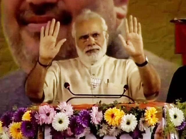 Video : PM Narendra Modi Halts Speech During Azaan In West Bengal Rally