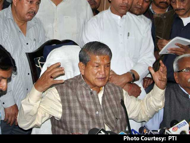 Video : Uttarakhand Crisis: Congress Moves Court Against President's Rule