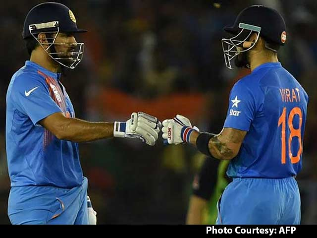 Video : Mahendra Singh Dhoni Reflects on Virat Kohli and Win vs Australia