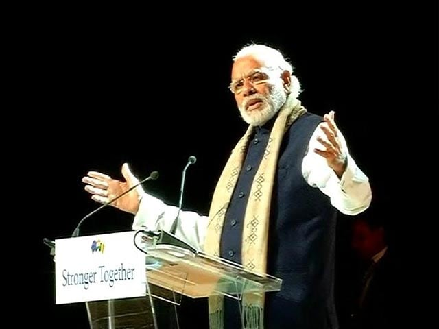 Video : Must De-link Religion From Terrorism, Says PM Modi In Brussels