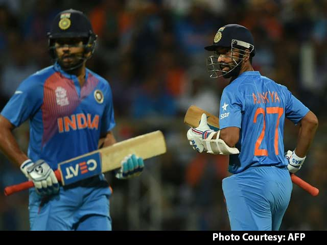 Ajinkya Rahane Was Better Choice Than Shikhar Dhawan: MS Dhoni
