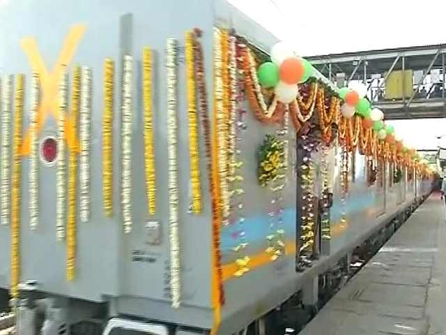 Video : Gatimaan Express, Fastest Indian Train - But Just By 7 Minutes