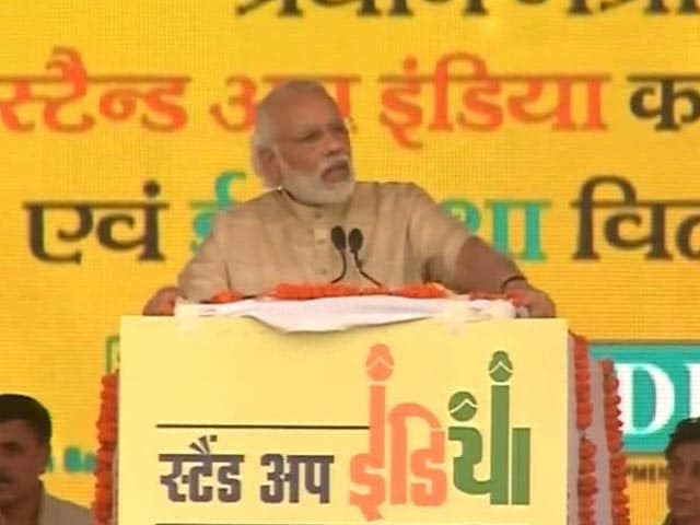 Video : 'Stand Up India' Will Provide Loans To Dalits, Women, Says PM Modi
