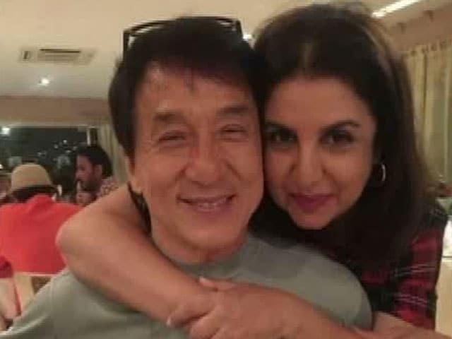 Farah on Choreographing Jackie Chan