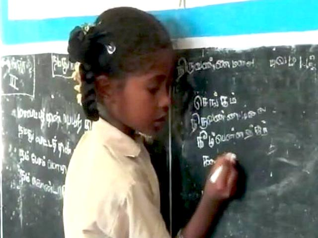 Video : This 7-Year-Old Girl In Tamil Nadu Is Now An Election Ambassador