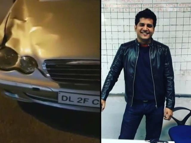 Video : Mercedes Hit-And-Run Driver A Class 12 Out With Friends, Say Cops