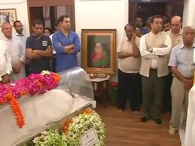 Videos : बीजेपी के वरिष्ठ नेता लालकृष्ण आडवाणी की पत्नी कमला आडवाणी का निधन