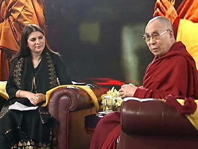 Video : I Am A Son Of India, Have Survived On Dal, Rotis: Dalai Lama To NDTV