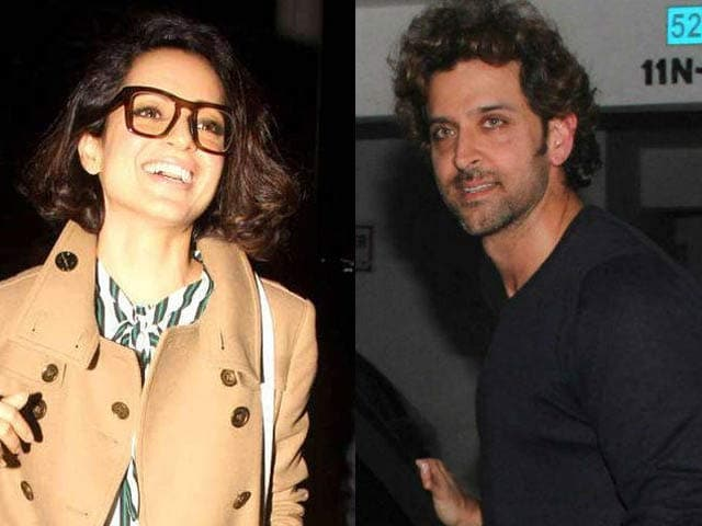 Video : Kangana and Hrithik: The Battle of 'Exes' Continue