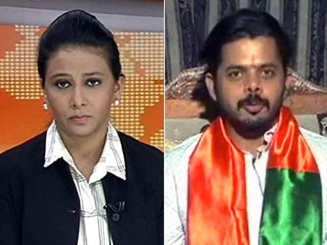 Video : नेशनल रिपोर्टर : सियासत की पिच पर श्रीसंत का शॉट हिट होगा या मिस?