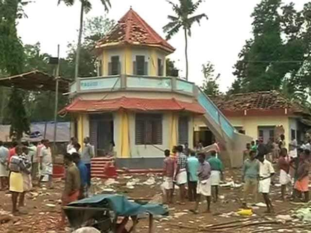 Video : Choppers To Airlift Injured In Kerala Temple Fire, Says Oommen Chandy