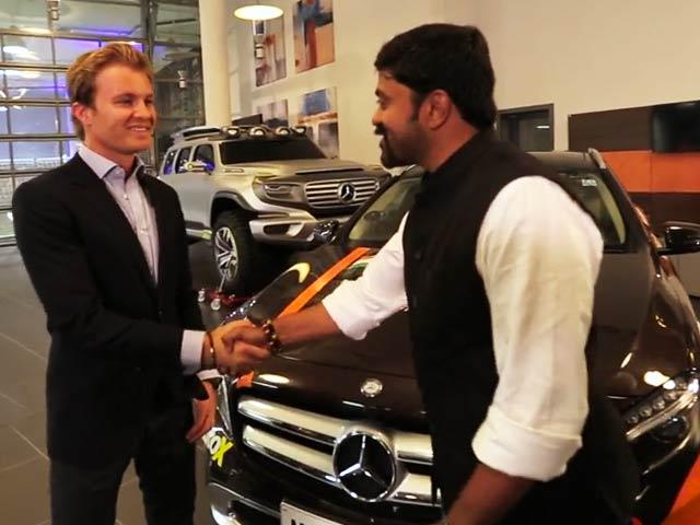#GLAadventure: Meeting Hamilton & Rosberg Is Like A Dream Come True