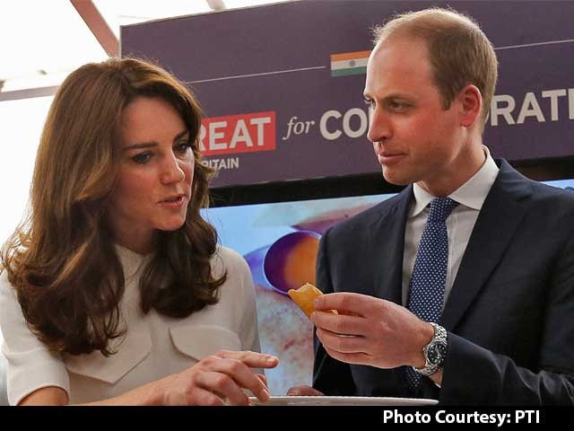 Video : William Makes Dosa In Mumbai, But Kate Refuses A Bite