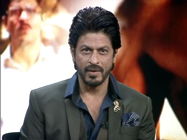 Video : When SRK Turned News Anchor for NDTV