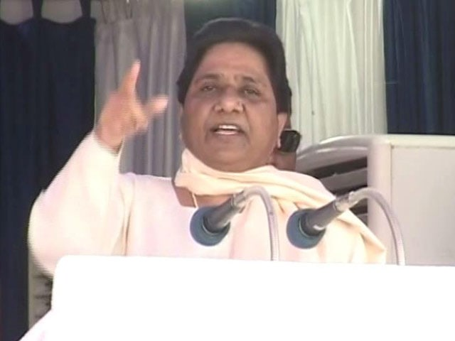 Video : Mayawati, Of Life-Size Statues Fame, Swears Off Memorials, Pledges 'Vikas'