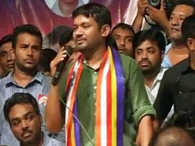 Video : नागपुर में जेएनयू छात्रसंघ अध्यक्ष कन्हैया के कार्यक्रम में हंगामा