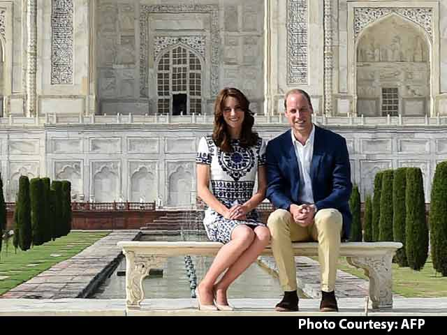 Video : William And Kate At The Taj Mahal