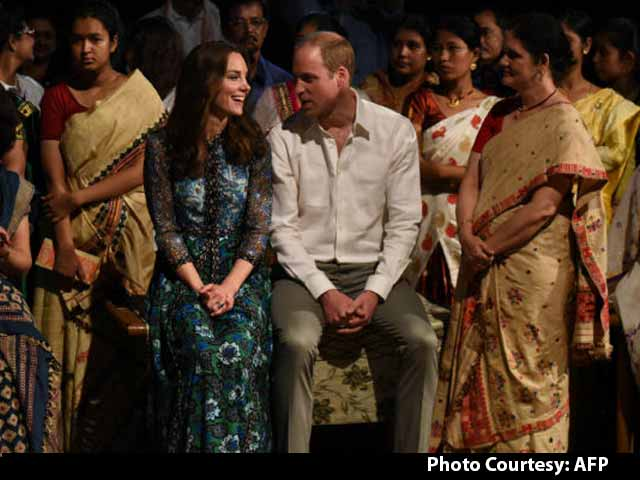 Kate Middleton and Prince William's Journey in India