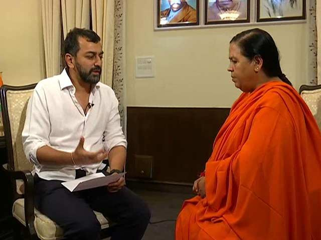 Video : 'Drought Is An Event For Which Its Pointless To Plan In Advance': Uma Bharti