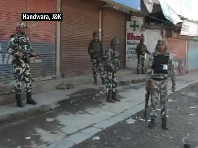 Video : Fresh Protests In Handwara With Army At The Centre Of Public Ire