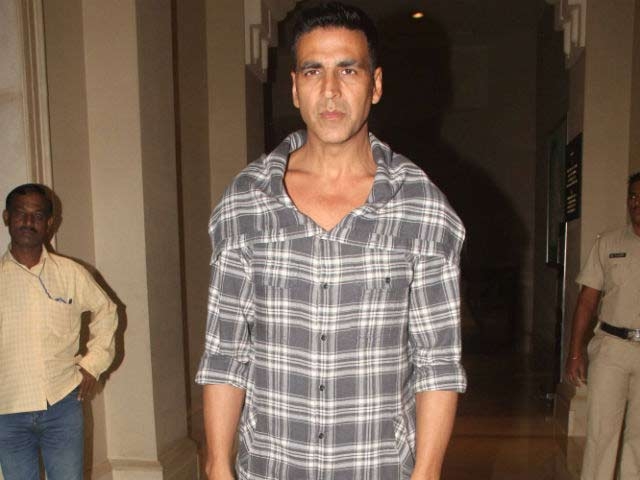 Akshay Kumar For Water Harvesting