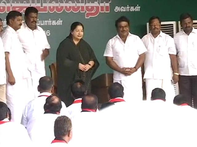 Video : Jayalalithaa's '51-in-One' Rally At DMK Stronghold In Tamil Nadu