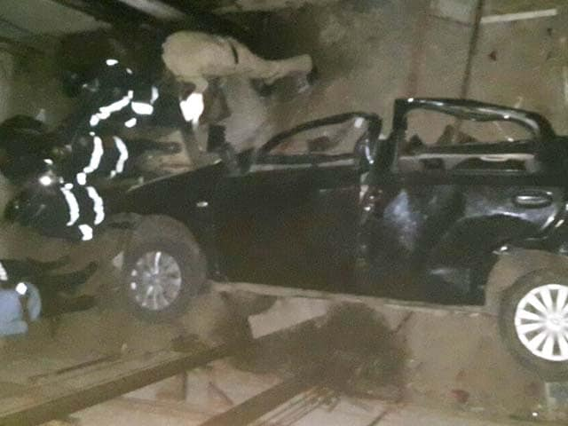 Video : 14-Year-Old Was Driving When Car Fell Into Elevator Shaft Of His Building