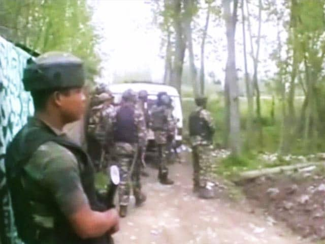 Video : 3 Terrorists Killed In Encounter With Security Forces In Jammu And Kashmir