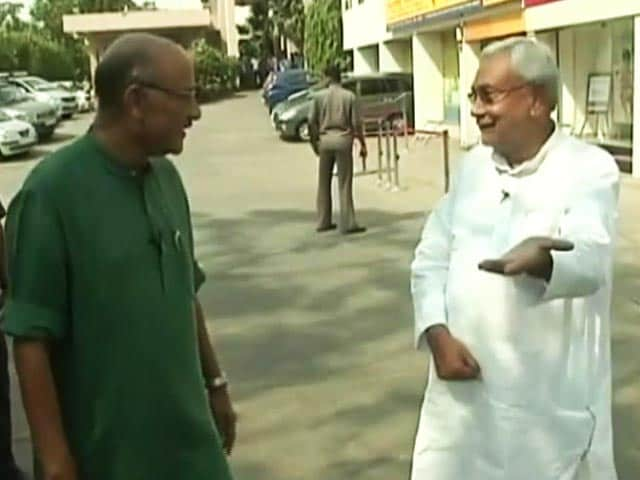 Video : Nitish Kumar's First TV Interview After Winning Bihar Election