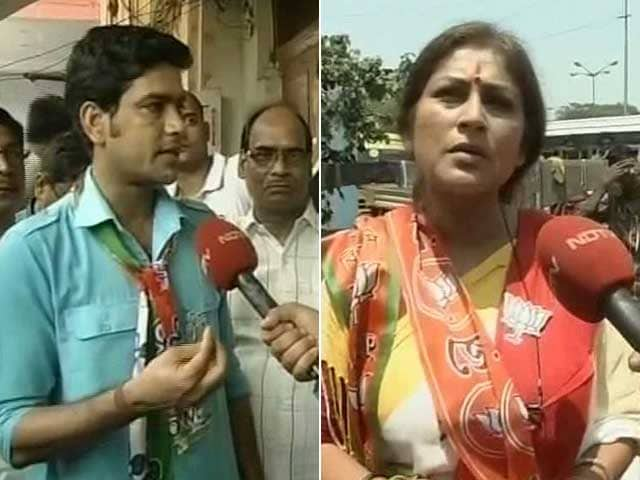 Video : In Howrah, A Match Between BJP's Roopa Ganguly And Trinamool's Shukla