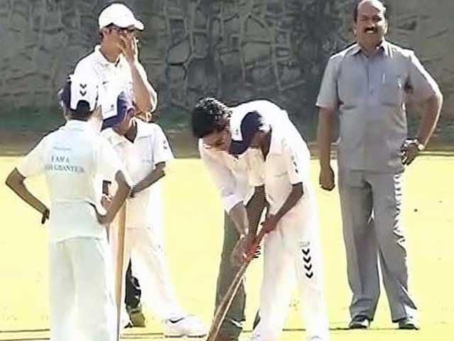 Video : Sachin Tendulkar's Birthday Today. Watch How He Started His Day.