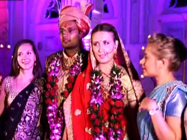 Video : Shashank, Anastasia's Indo-Russian Wedding on <i>Yarri Dostii Shaadi</i>