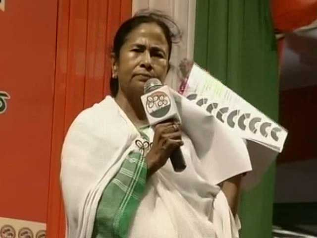 Video : In Fiery Speech, Mamata Banerjee Takes On PM Modi, Sonia Gandhi