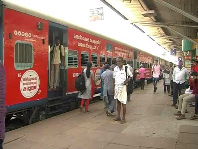 Video : On Track For Kerala Elections, Trains Wrapped In Ads