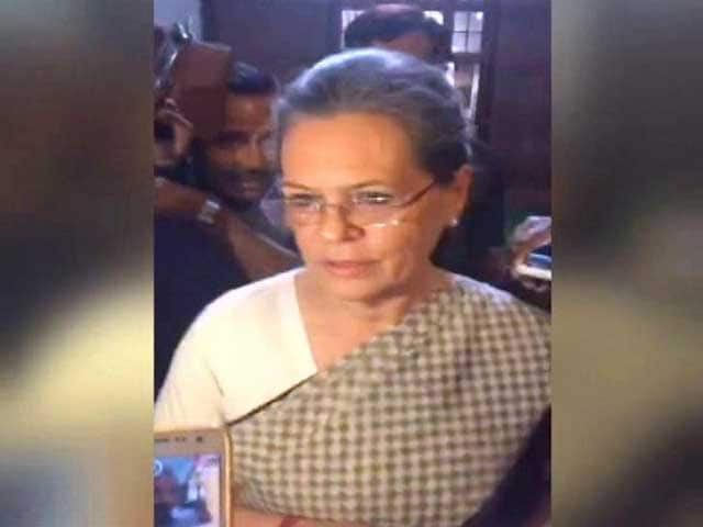 Video : 'What Was Government Doing For 2 Years?' Sonia Gandhi On Agusta Scam