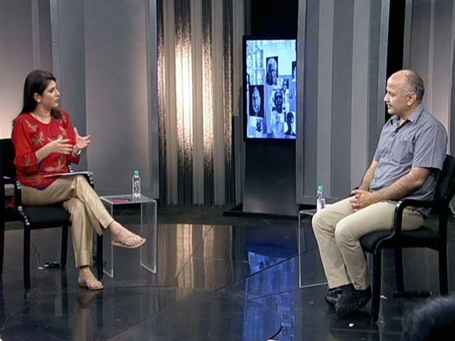 Video : The NDTV Dialogues With Delhi Education Minister Manish Sisodia