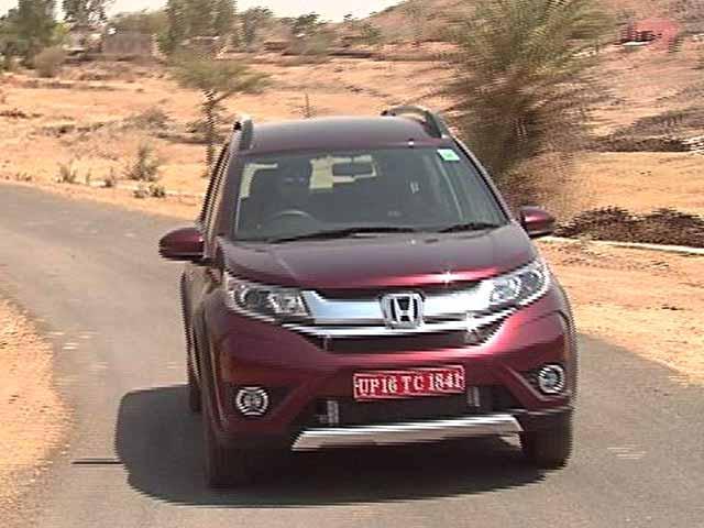 Video : रफ्तार : हौंडा BRV की टेस्ट ड्राइव, देखें कितना दम है इस कार में?