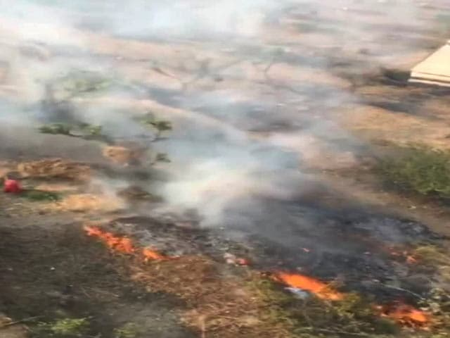 Video : How Big Are Uttarakhand Fires? This Is Shot From A Helicopter