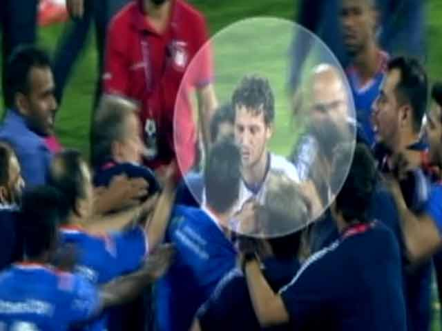 Video : The Fight After The ISL Final. Here's What You Didn't Get To See.