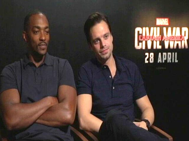 Video : Captain America: Civil War's Anthony Mackie 'Could Do' a Bollywood Film