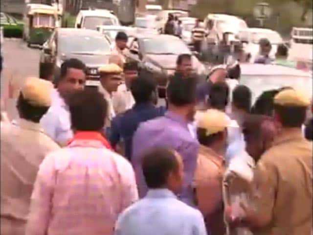Video : Day 2 Of Hellish Traffic For Delhi, Protests Block Major Roads