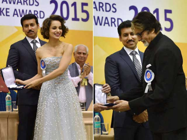 National Awards: Big B, Kangana Receive Awards