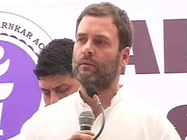 Video : Go Ahead, Target Away, Says Rahul Gandhi To BJP On Agusta Chopper Scam