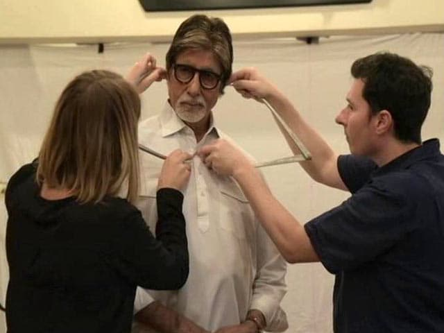 Amitabh Bachchan Gets a Make-Over